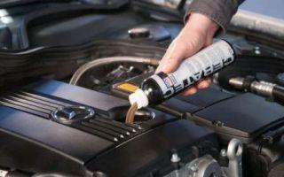 Присадка в двигатель чтобы не ел масло и не дымил