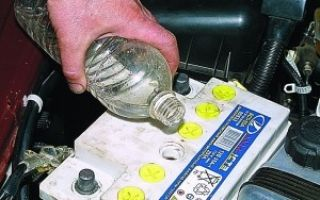 Замена электролита в аккумуляторе в домашних условиях