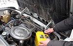 Промывка дизельного двигателя при замене масла