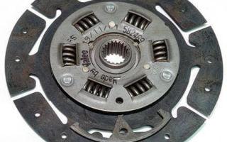 Нажимной диск сцепления в устройстве сцепления автомобиля