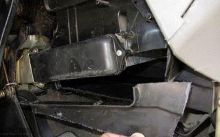 Замена радиатора печки лада калина без снятия панели