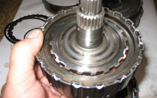 Как снять гидротрансформатор с акпп