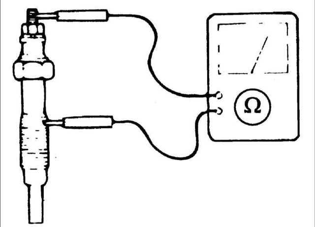 Замена свечей накаливания на дизельном двигателе