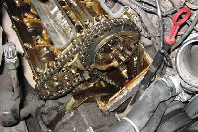 Цепь в двигателе автомобиля: назначение, плюсы и минусы