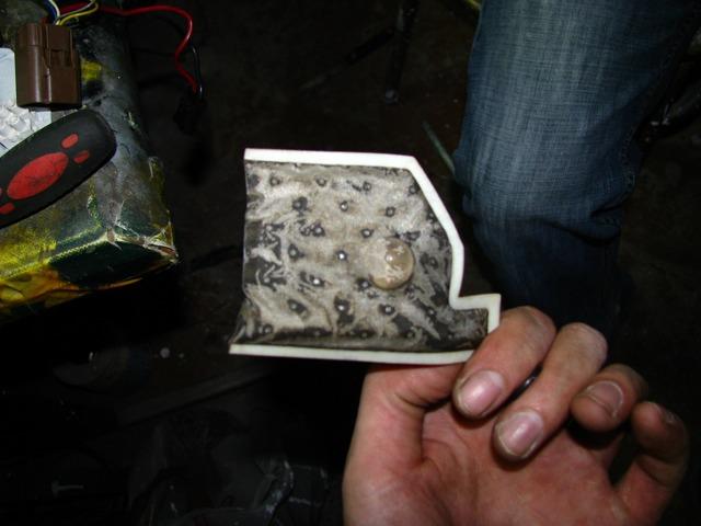 Как заменить сетку на бензонасосе