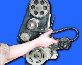 Метки ГРМ ВАЗ 2109: как поменять ремень и что нужно учитывать при замене