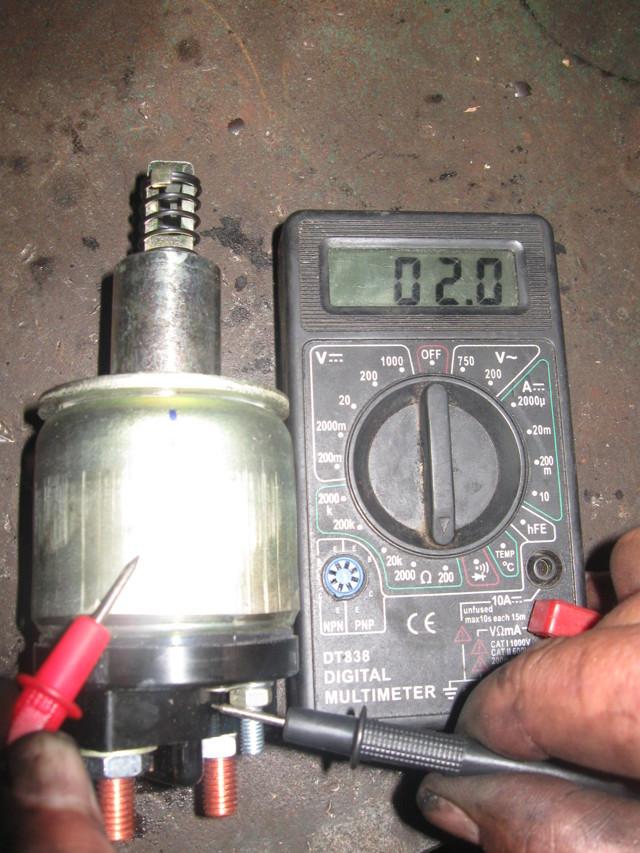 Реле стартера ВАЗ 2110: где находится реле стартера, неисправности, диагностика и ремонт