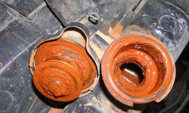 Как промыть систему охлаждения двигателя от ржавчины