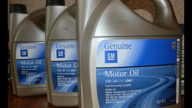Масло gm 5w30 dexos2: свойства и особенности