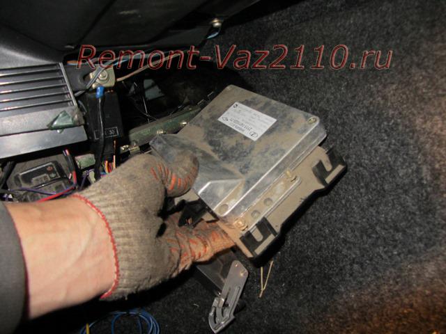 Как заменить блок управления двигателем автомобиля