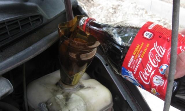 Как промыть радиатор охлаждения двигателя не снимая его