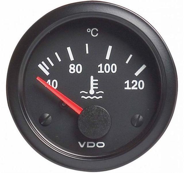 Почему падает температура двигателя в движении