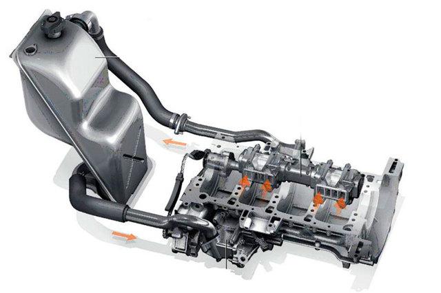 Двигатель с сухим картером: устройство и особенности