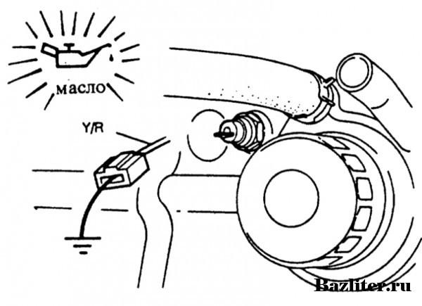 Горит лампа давления масла на холостом ходу: возможные причины