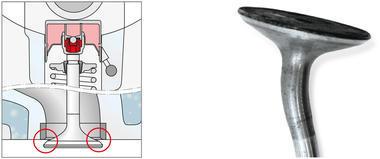 Впускной клапан двигателя