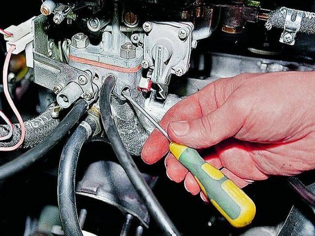 Регулировка газового оборудования на карбюраторном двигателе