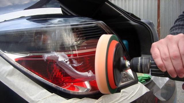 Полировка фар своими руками: как отполировать фару автомобиля из пластика и стекла