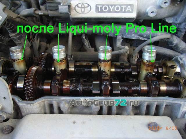 Тест промывочных масел для двигателя