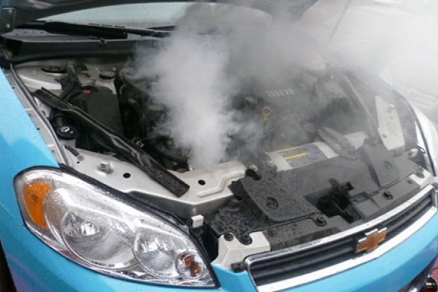 Признаки перегрева двигателя