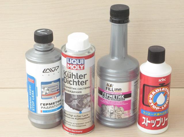 Выбираем герметик для системы охлаждения двигателя