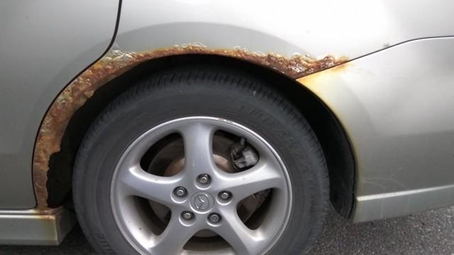 Как убрать ржавчину с автомобиля своими руками: удаление ржавчины с кузова автомобиля