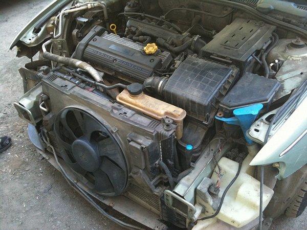 Вентилятор системы охлаждения автомобиля