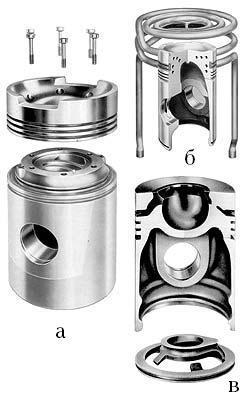 Система смазки дизельного двигателя
