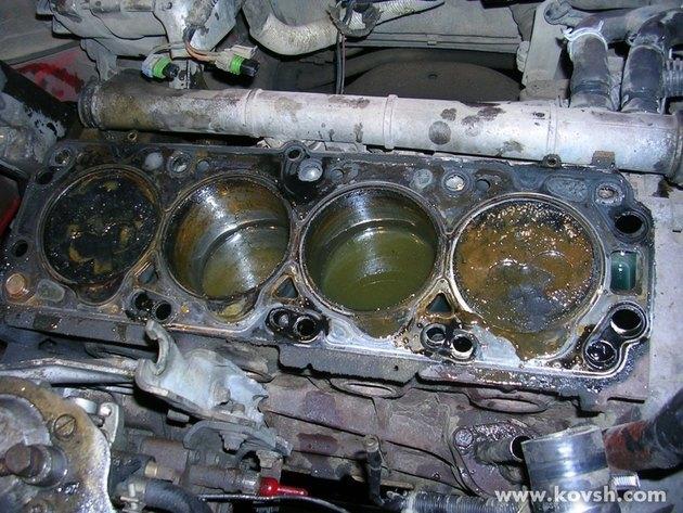 Последствия перегрева двигателя автомобиля