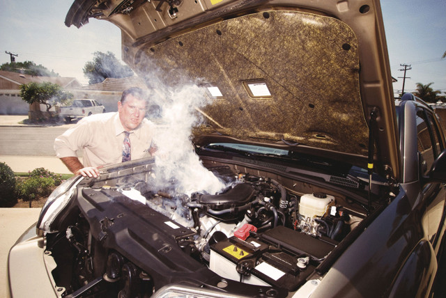Что делать если «закипел» двигатель