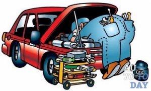 Разнос дизельного двигателя