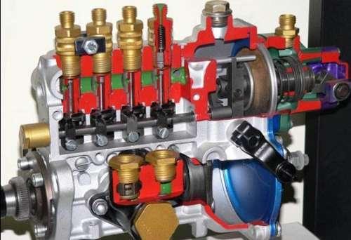 Принцип работы топливного насоса высокого давления