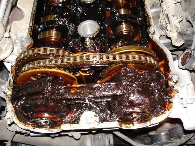 Интервал замены масла в дизельном двигателе