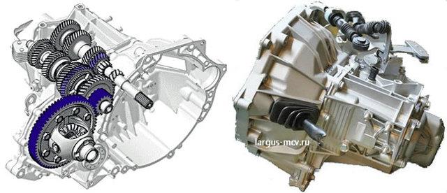 Лада Ларгус: коробка передач на largus