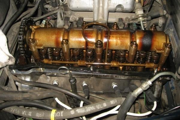 Стук в двигателе на холодную