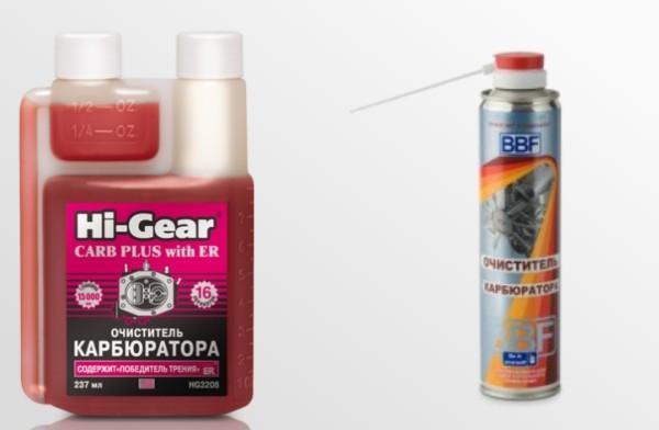 Очиститель карбюратора: какой лучше выбрать