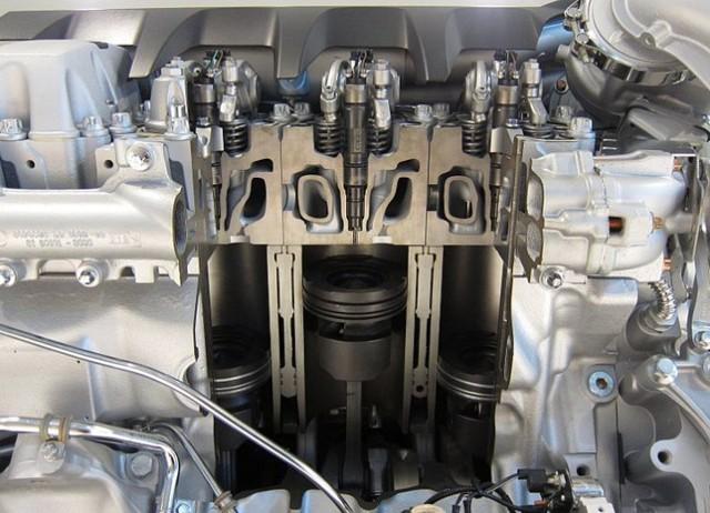 Температура в камере сгорания дизельного двигателя и давление