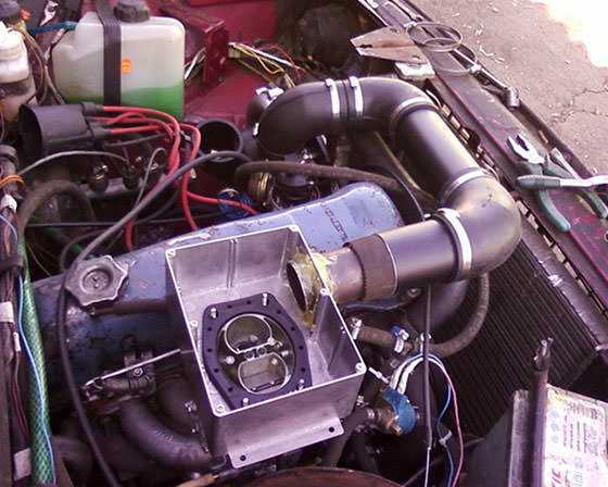 Можно ли поставить турбину на карбюраторный двигатель