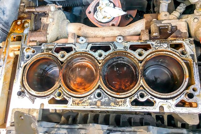 Нормы расхода масла в двигателе
