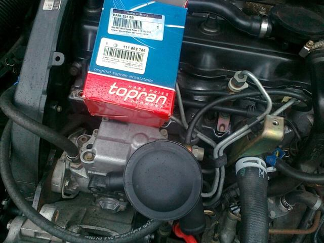 Как работает вентиляция картера двигателя