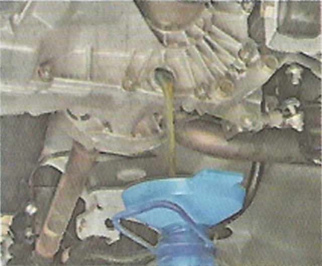 Лада Гранта: замена масла в МКПП