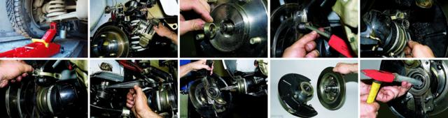 Замена ступичного подшипника ВАЗ 2110, «Нива» и другие модели