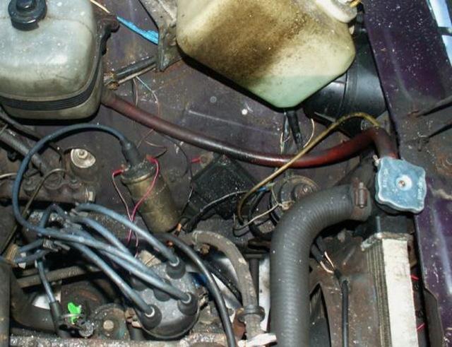 Как проверить искру на инжекторном двигателе