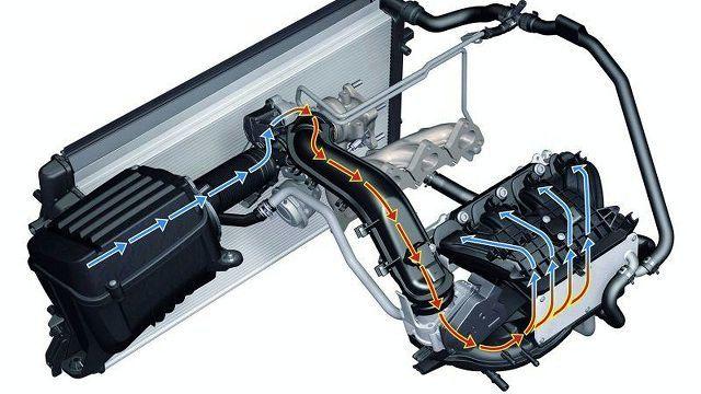 Масло в интеркулере дизельного двигателя: причины