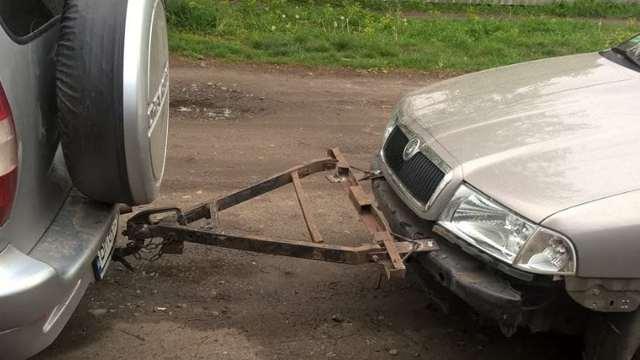 Буксировка автомобиля с вариатором: что нужно знать