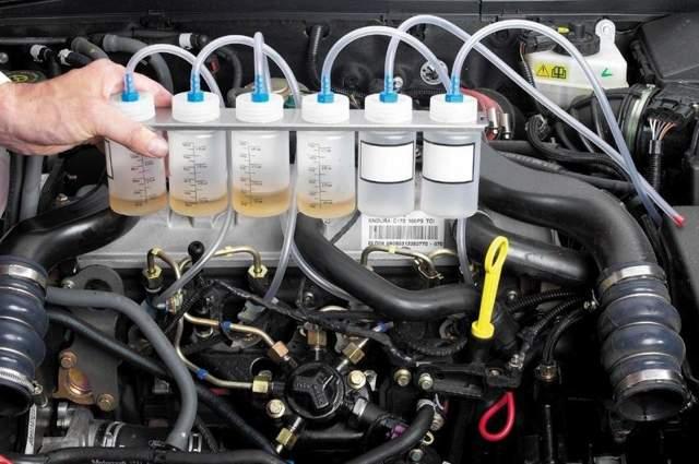 Промывка топливной системы двигателя своими руками