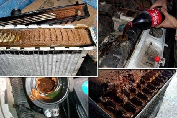 Промывка системы охлаждения двигателя своими руками