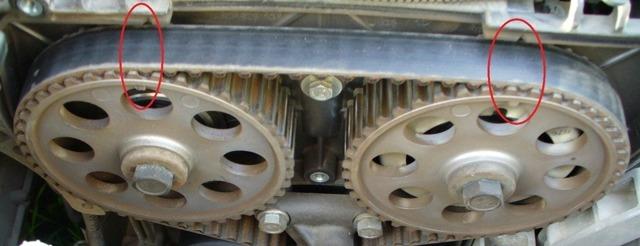 Замена ремня ГРМ Приора 16 клапанов: как проверять и менять ремень ГРМ