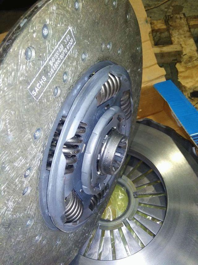 Замена сцепления: какой стороной ставить диск сцепления